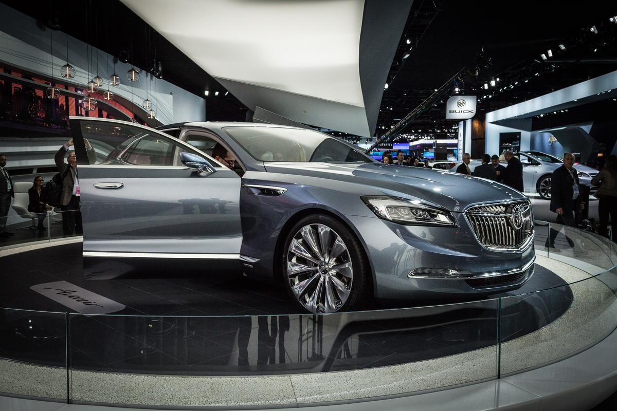 Buick's Avenir is designed to show the brand's design direction (Photo: Loz Blain/Gizmag)