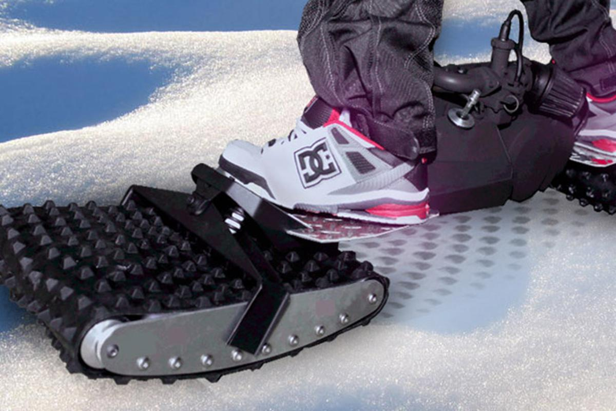 The Ungoverned is a powered board designed to tackle everything from rocks to snow