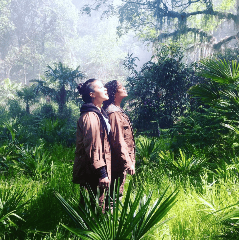 The first set photo released from Annihilation