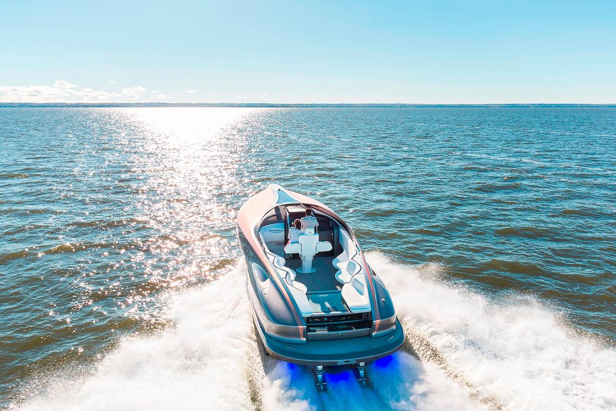 Sales of the Lexus SportYacht will begin in the second half of the year