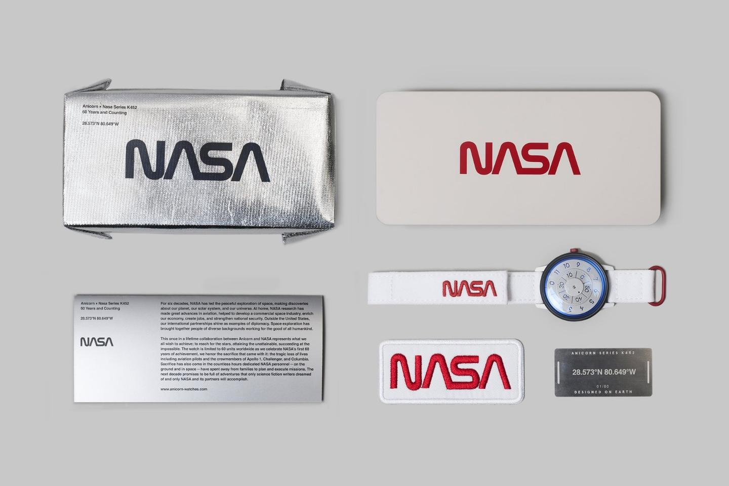 The Anicorn × NASA package