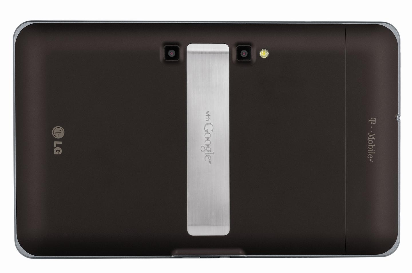 The rear-facing camera is a full 1080p stereoscopic camera that also snaps 5 megapixel images and benefits from an LED flash