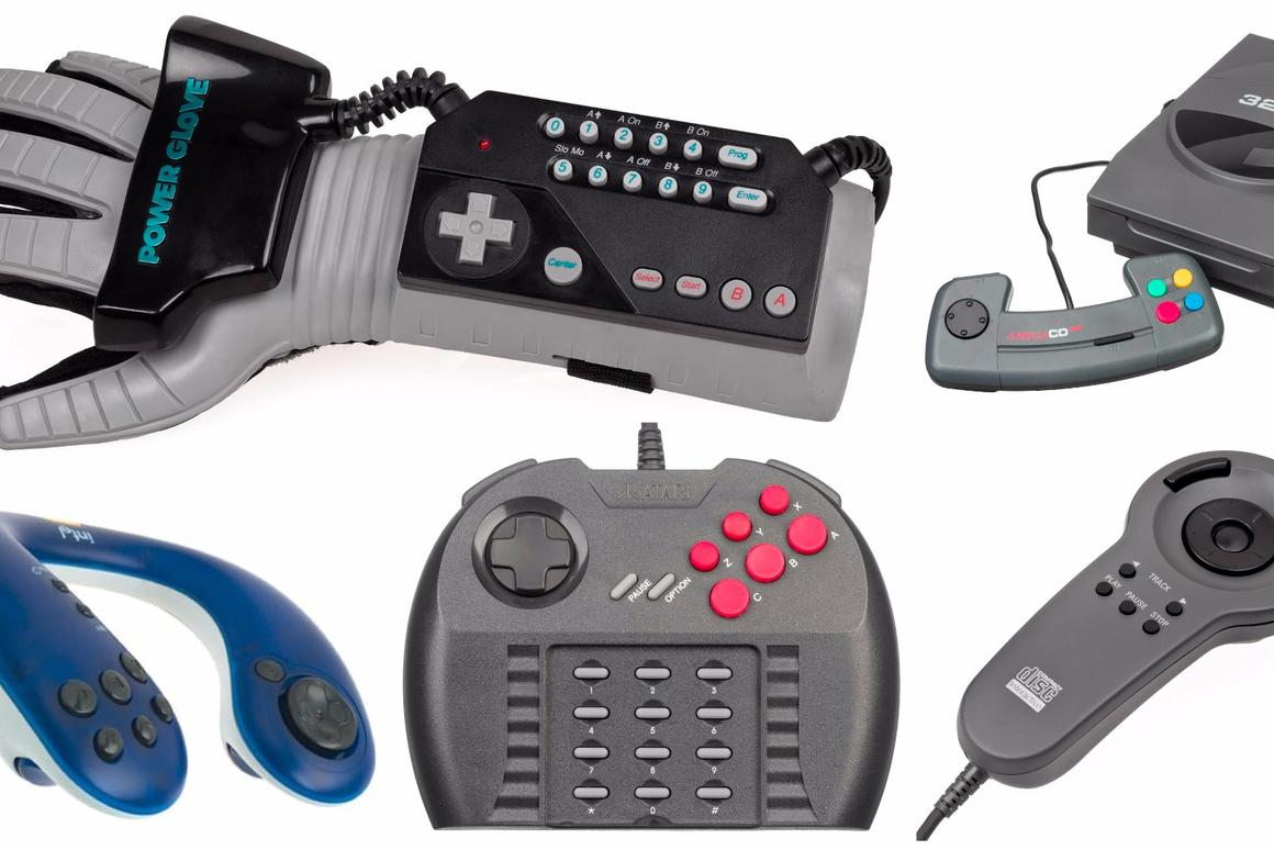 The 7 worst gaming controllers of all time