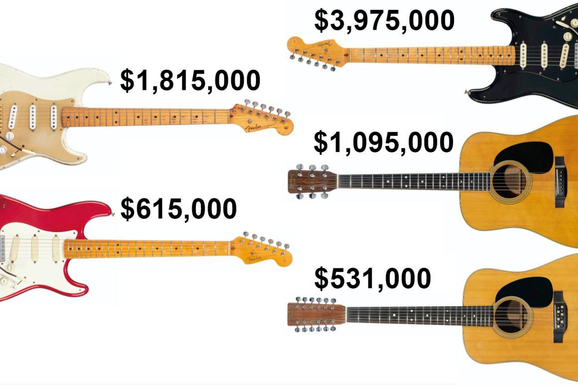 Pink Floyd's Dave Gilmour sells $21 5 million guitar