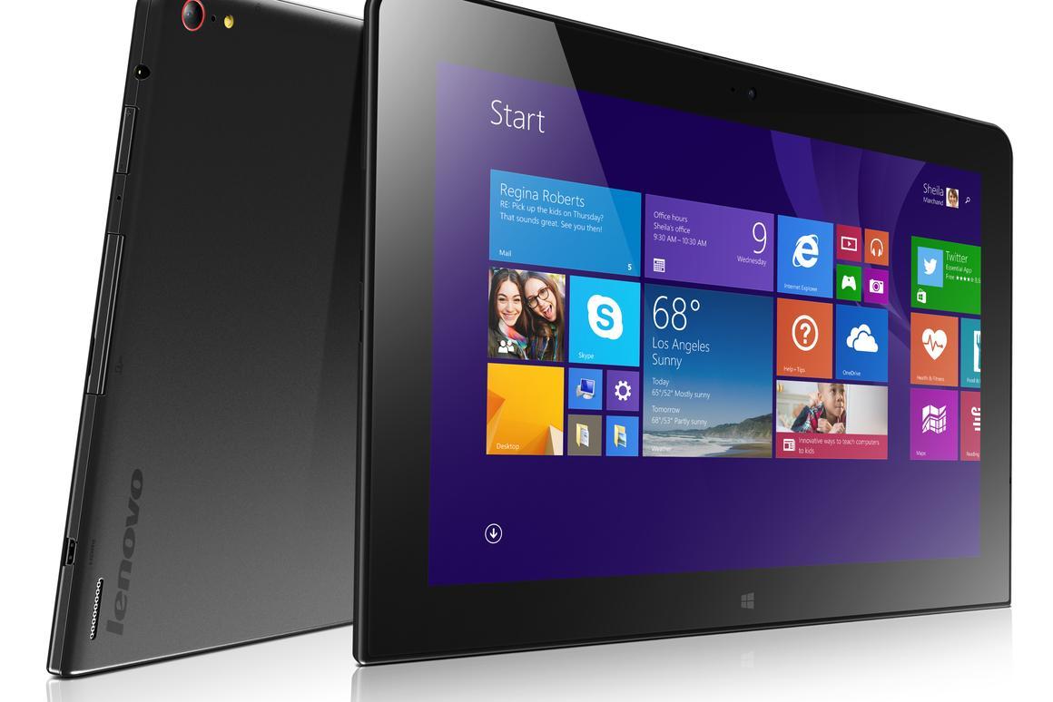 Lenovo's ThinkPad 10 business tablet