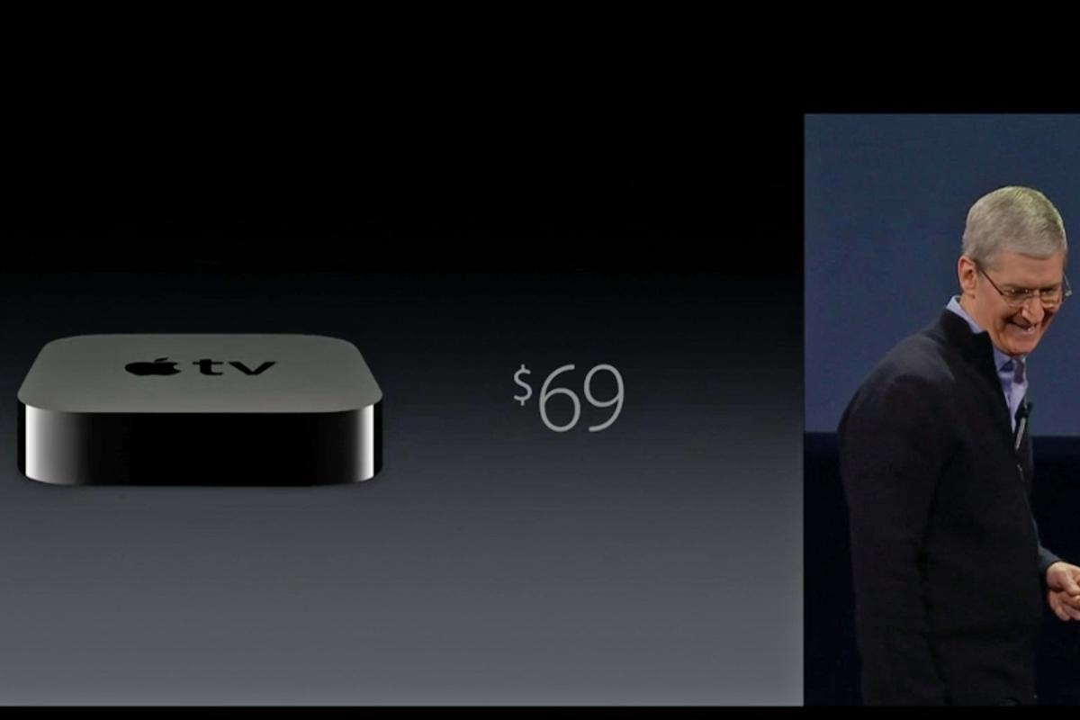 Today Apple dropped the Apple TV's price by US$30