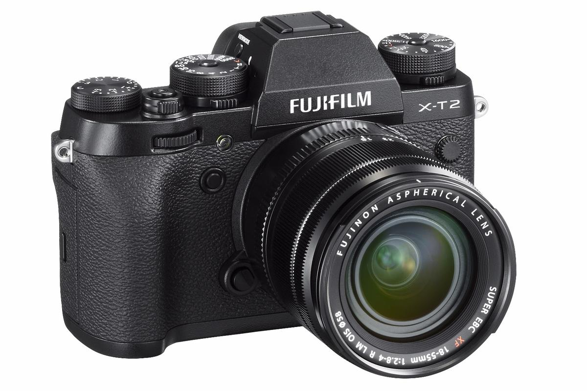The Fujifilm X-T2 is the first X-Series camera to shoot 4K video
