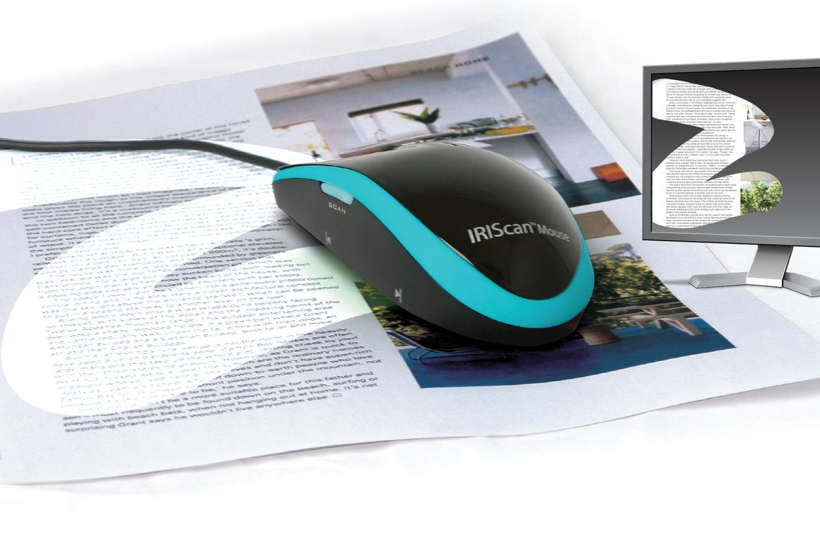 The IRIScan wired mouse/scanner