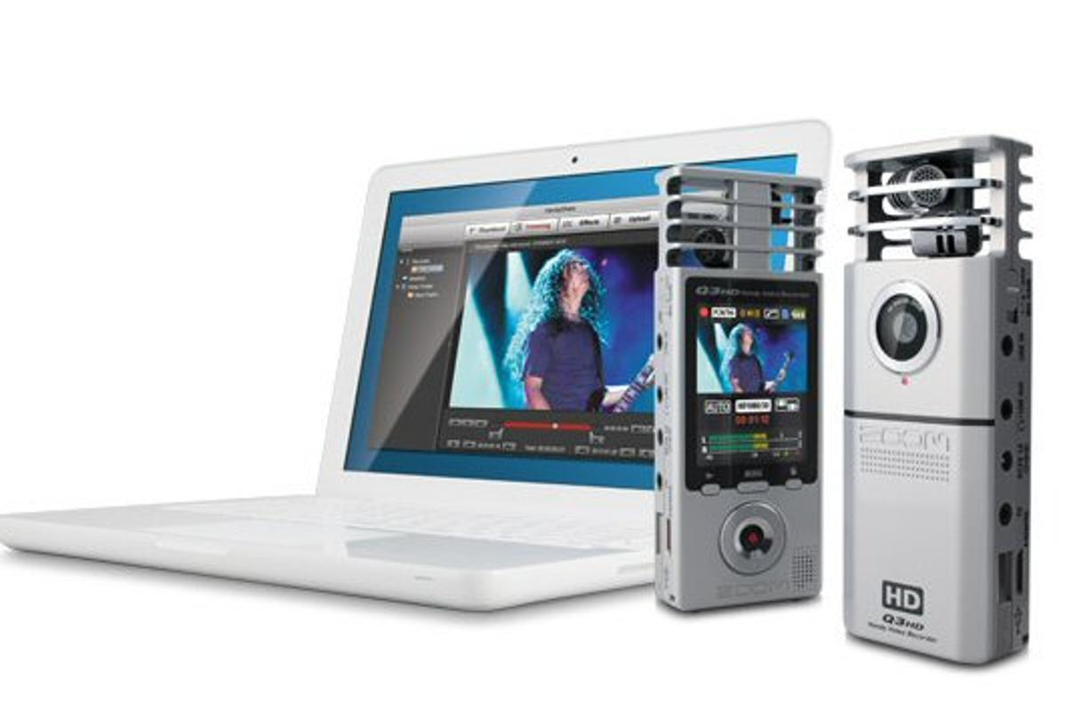 Samson Technologies has revealed that its Q3 handy recorder is about to receive HD video capabilities to complement the high definition audio