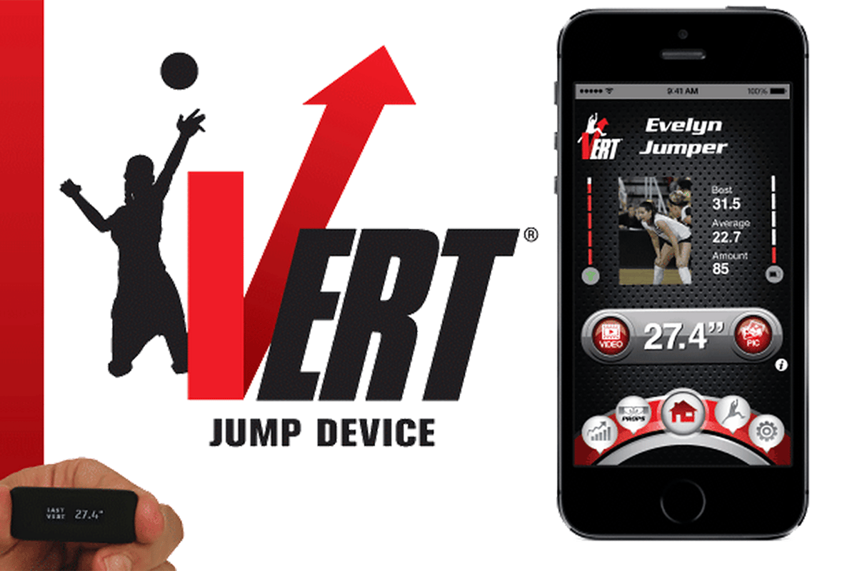 Vert is a wearable designed specifically for tracking jumps