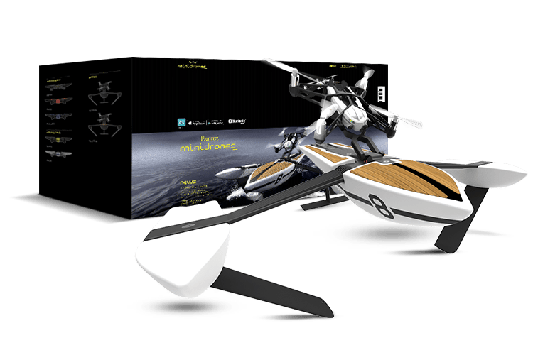 The Parrot Minidrone Hydrofoil will be available in August priced at US$179, in a choice of two designs