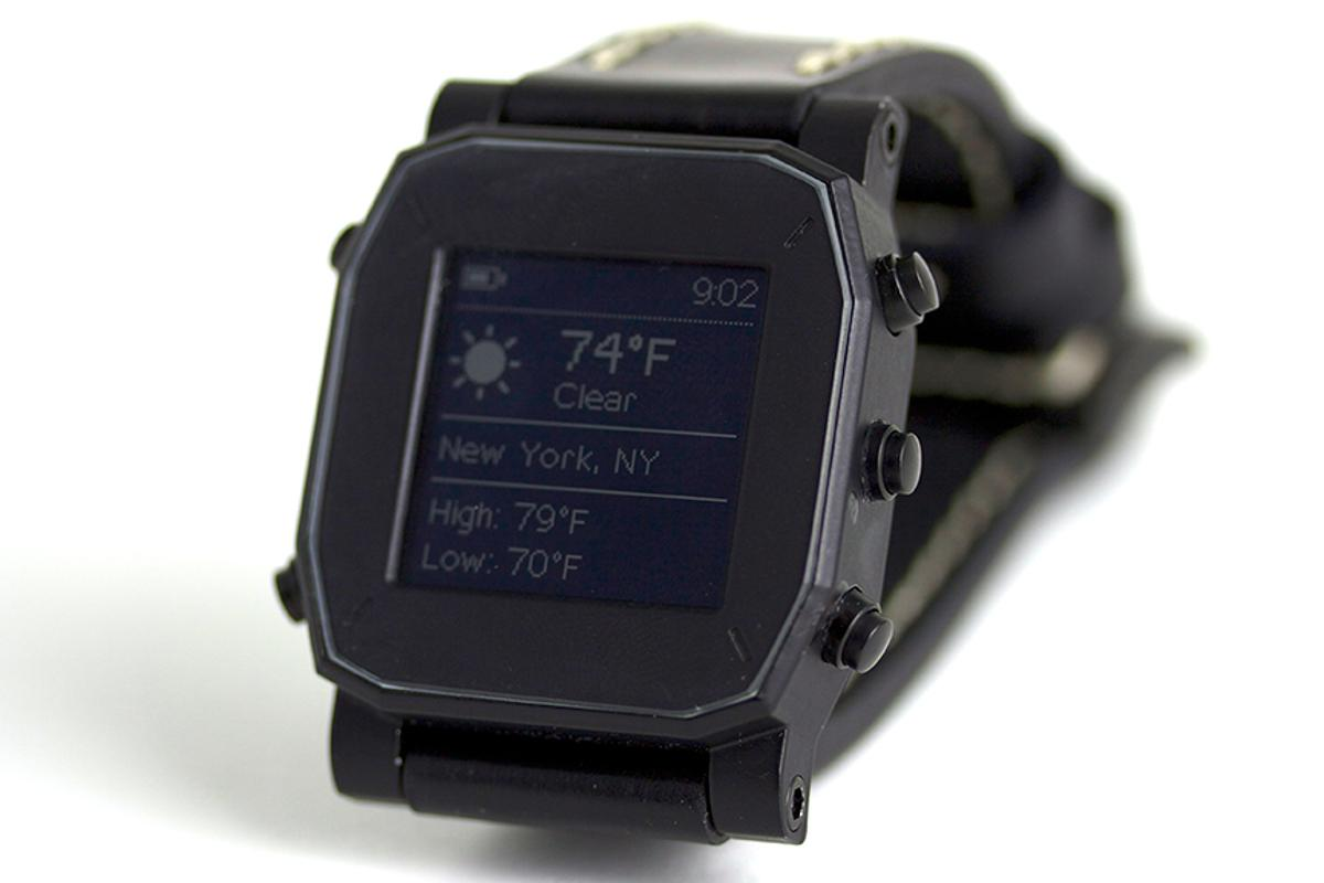 Agent is the latest smartwatch to cause a stir