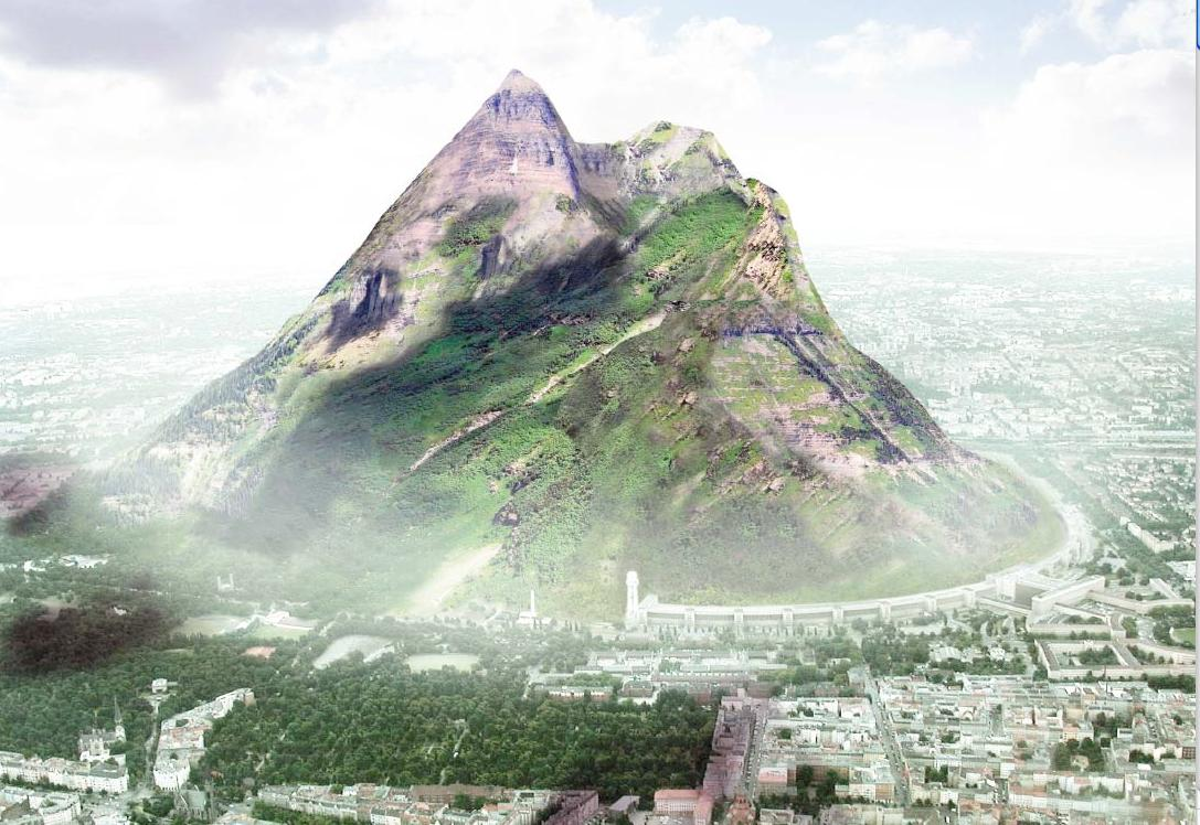 The Berg - a 1km-tall man-made mountain, but is it a hoax or a real opportunity?
