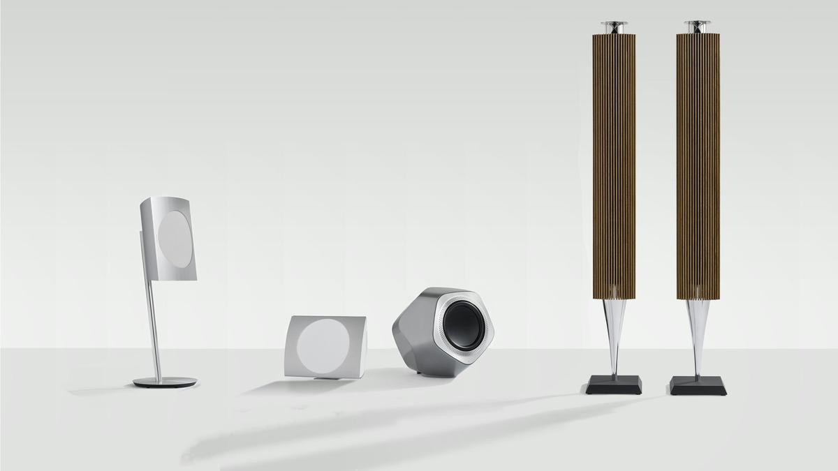 The new Immaculate Wireless Sound BeoLab speakers from Bang & Olufsen