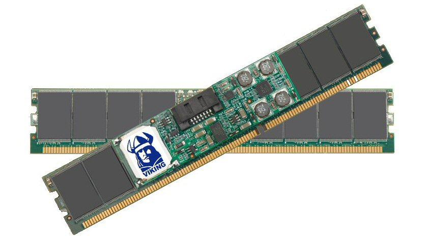 Viking Modular has placed SSD storage on a DDR3 memory module to create SATADIMM