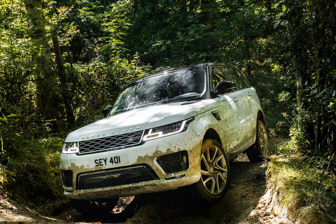 The new Range Rover Sport PHEV