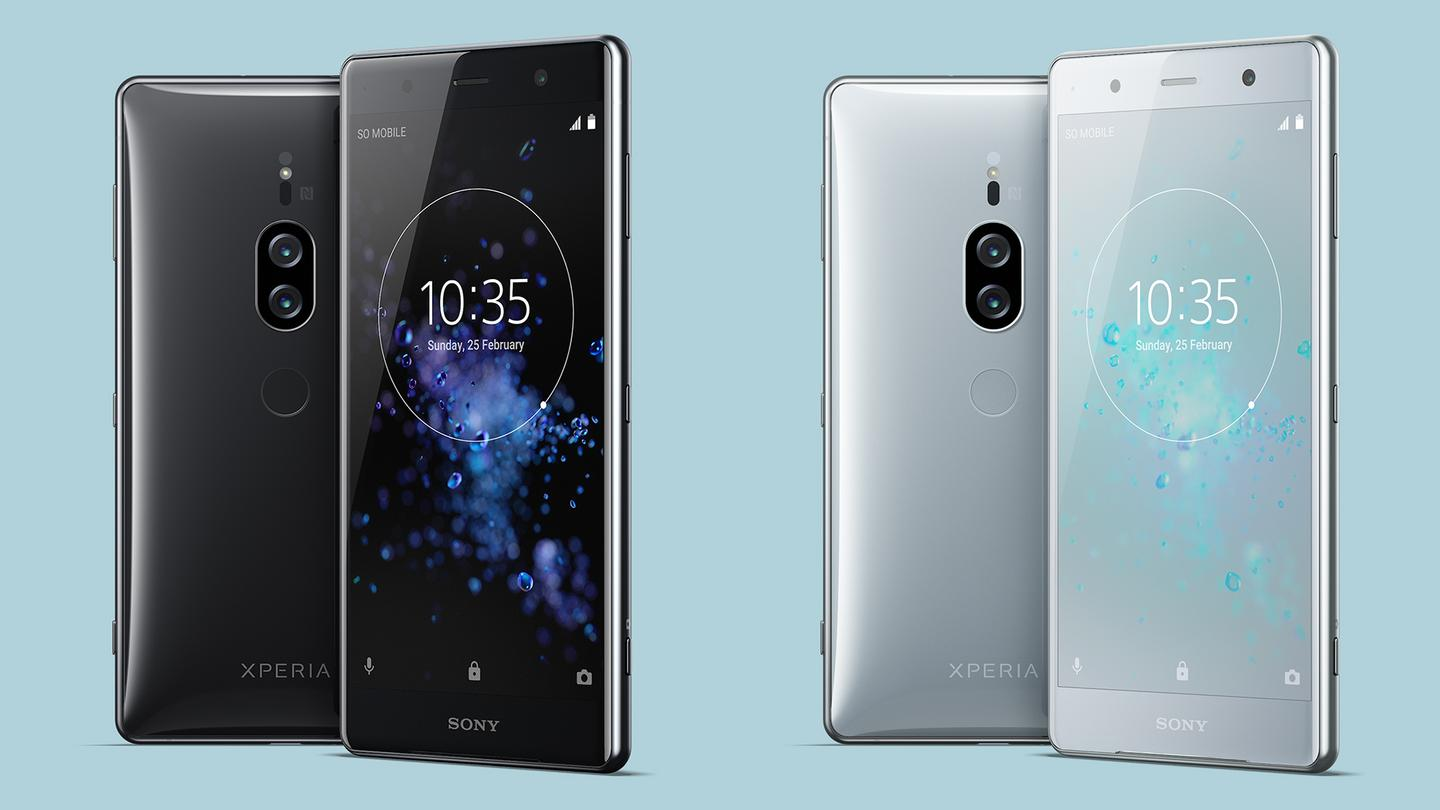You can pick up the Sony Xperia XZ2 Premium in black or silver from the middle of the year