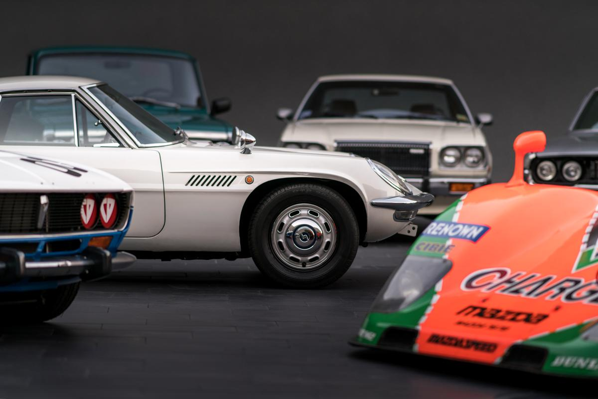 A collection of rotary engined Mazdas is rare