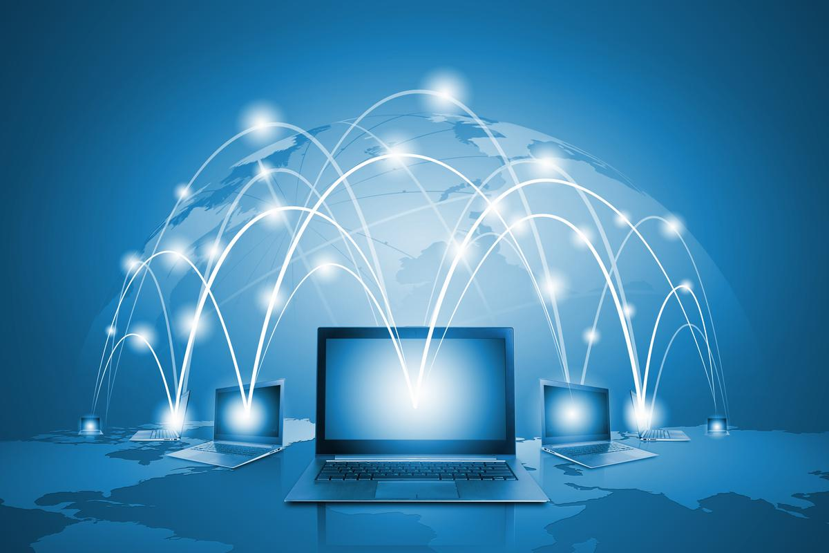 """""""Network coding"""" could make the internet faster and more secure (Image: Shutterstock)"""