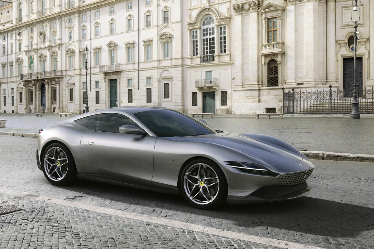 Ferrari's new Roma: is it a hint at a new design direction for the brand?