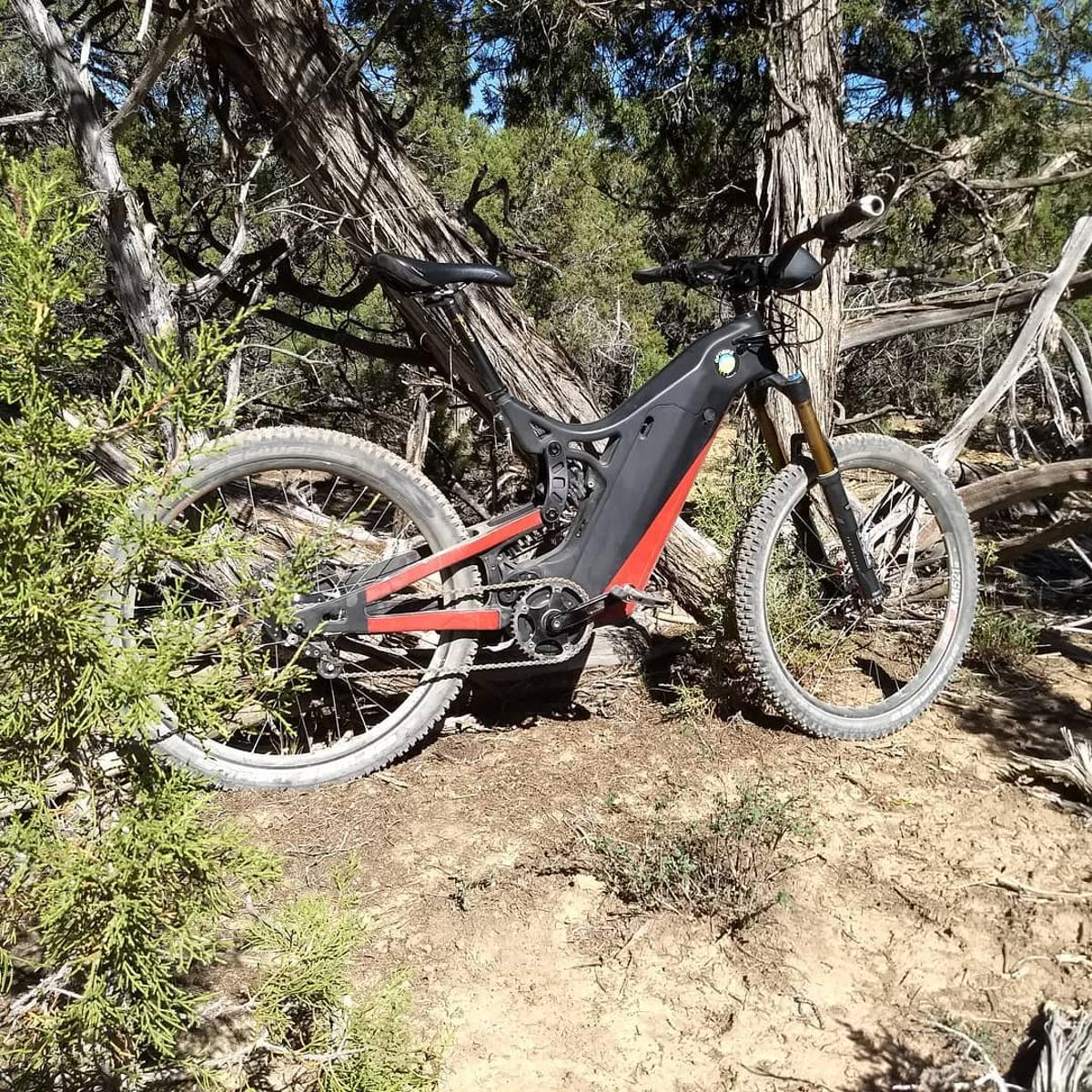 The Optibike R15C in its natural environment