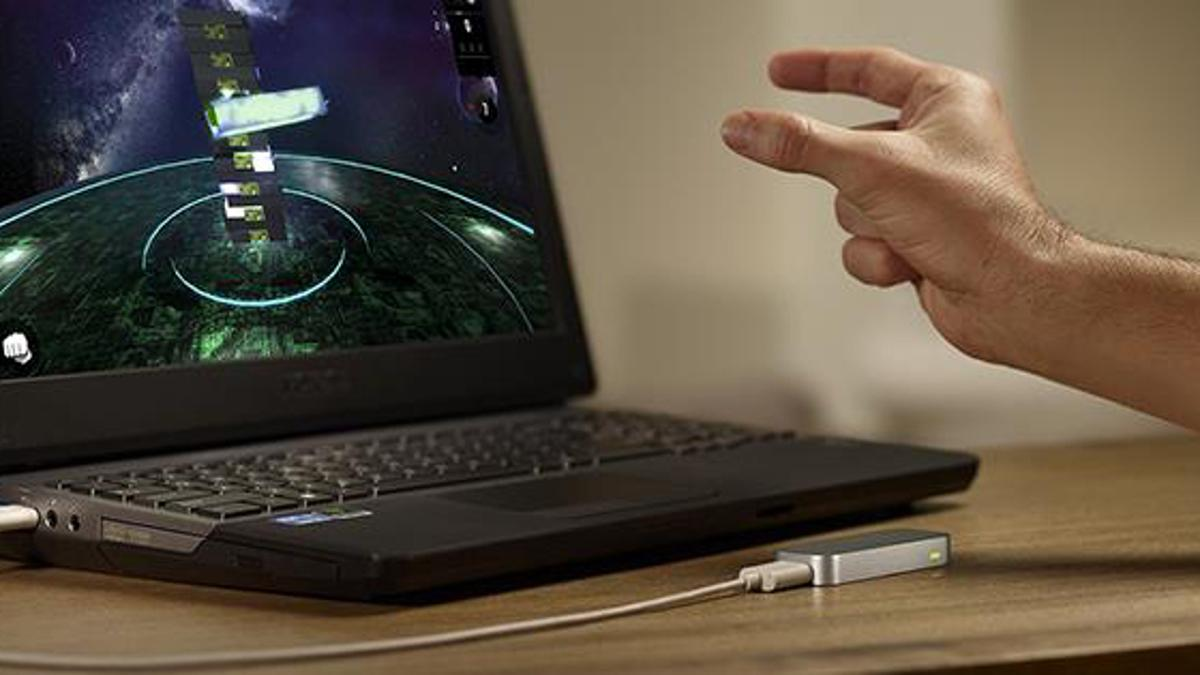 The Leap Motion will be bundled with certain HP devices, before HP starts embedded the Leap Motion tech into future devices