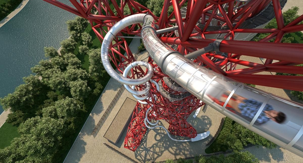 The slide will be 178-m (584-ft) long and 76-m (249-ft) high