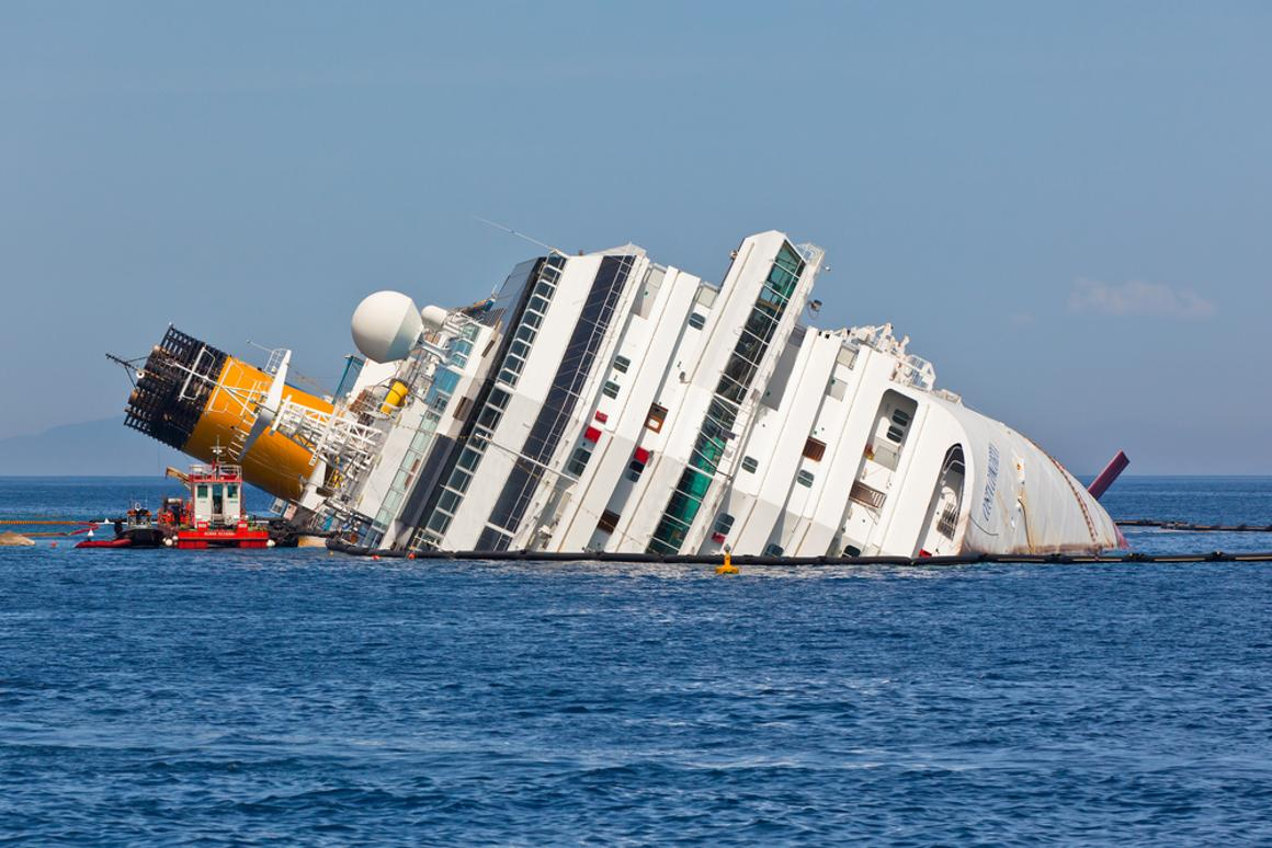 Would built-in flotation bags have allowed the Costa Concordia to remain upright? (Photo: Shutterstock)