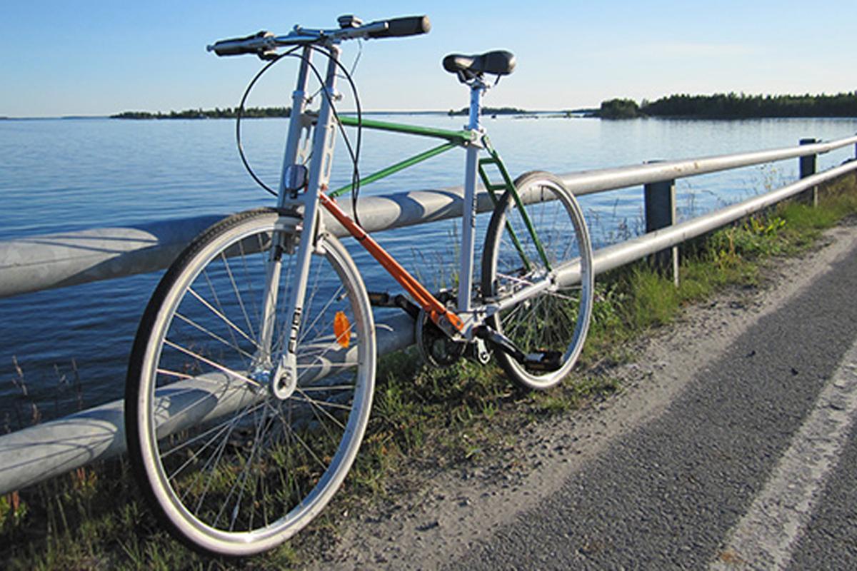 The Fubi folding bicycle prototype