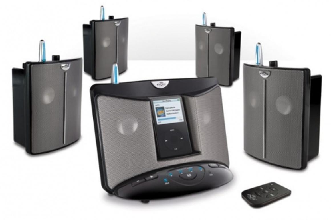 The Eos wireless speaker system
