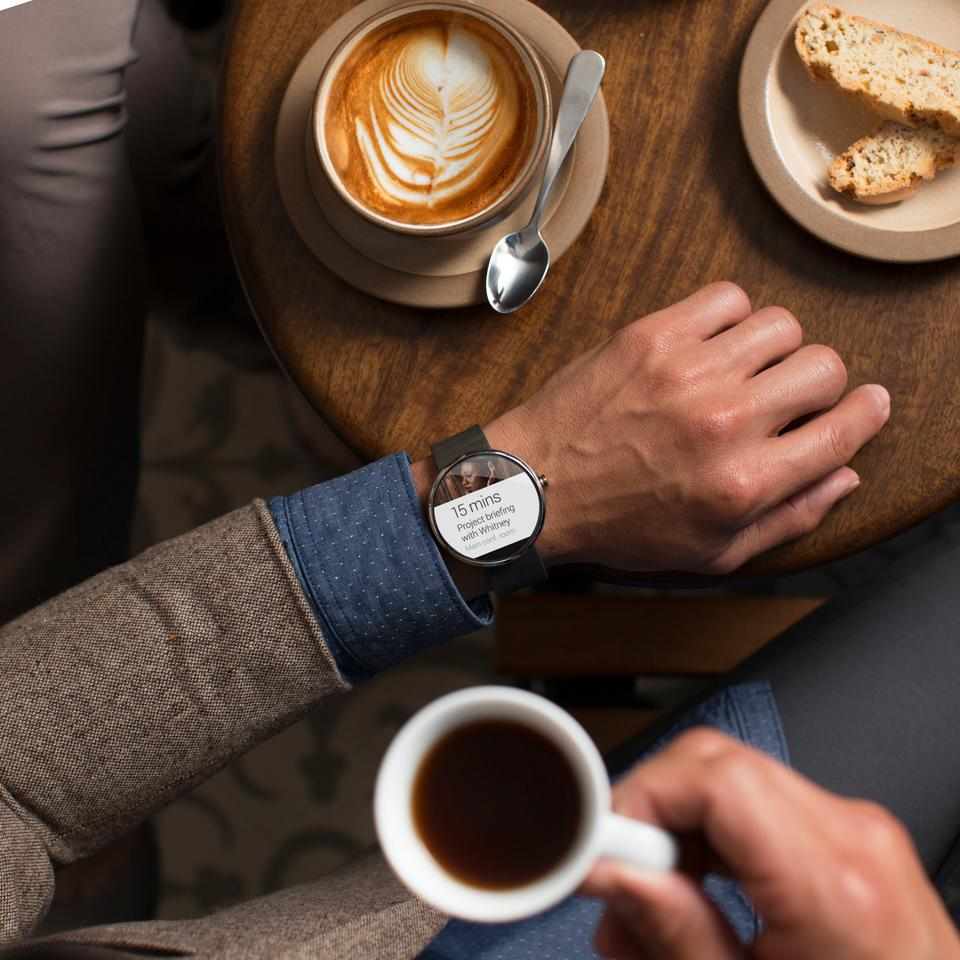 Motorola's upcoming Moto 360 smartwatch