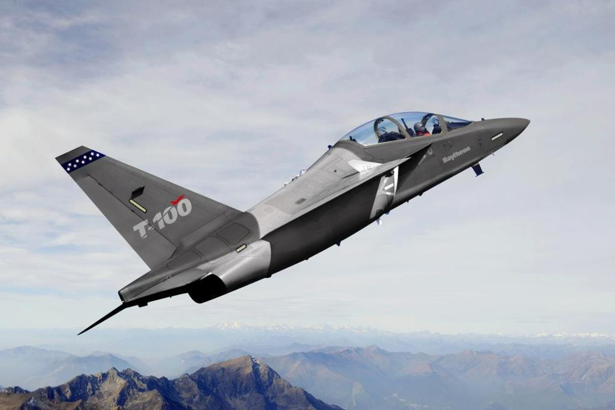 The T-100 was originally backed by Raytheon and Leonardo