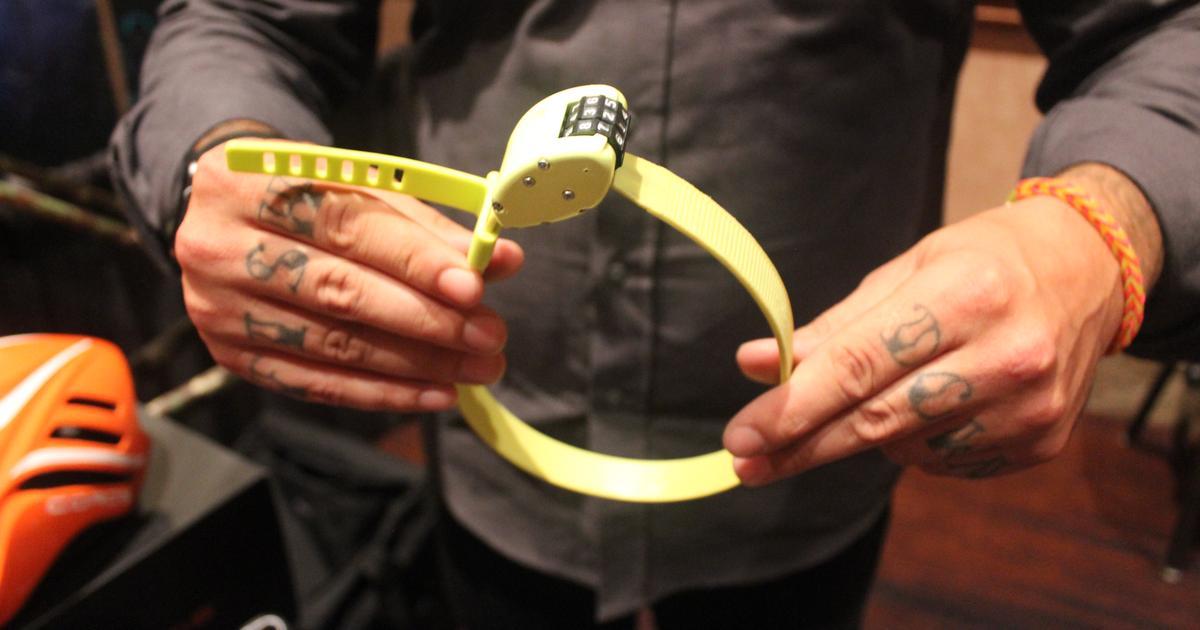 Zip-tie-inspired bike lock won't weigh you down