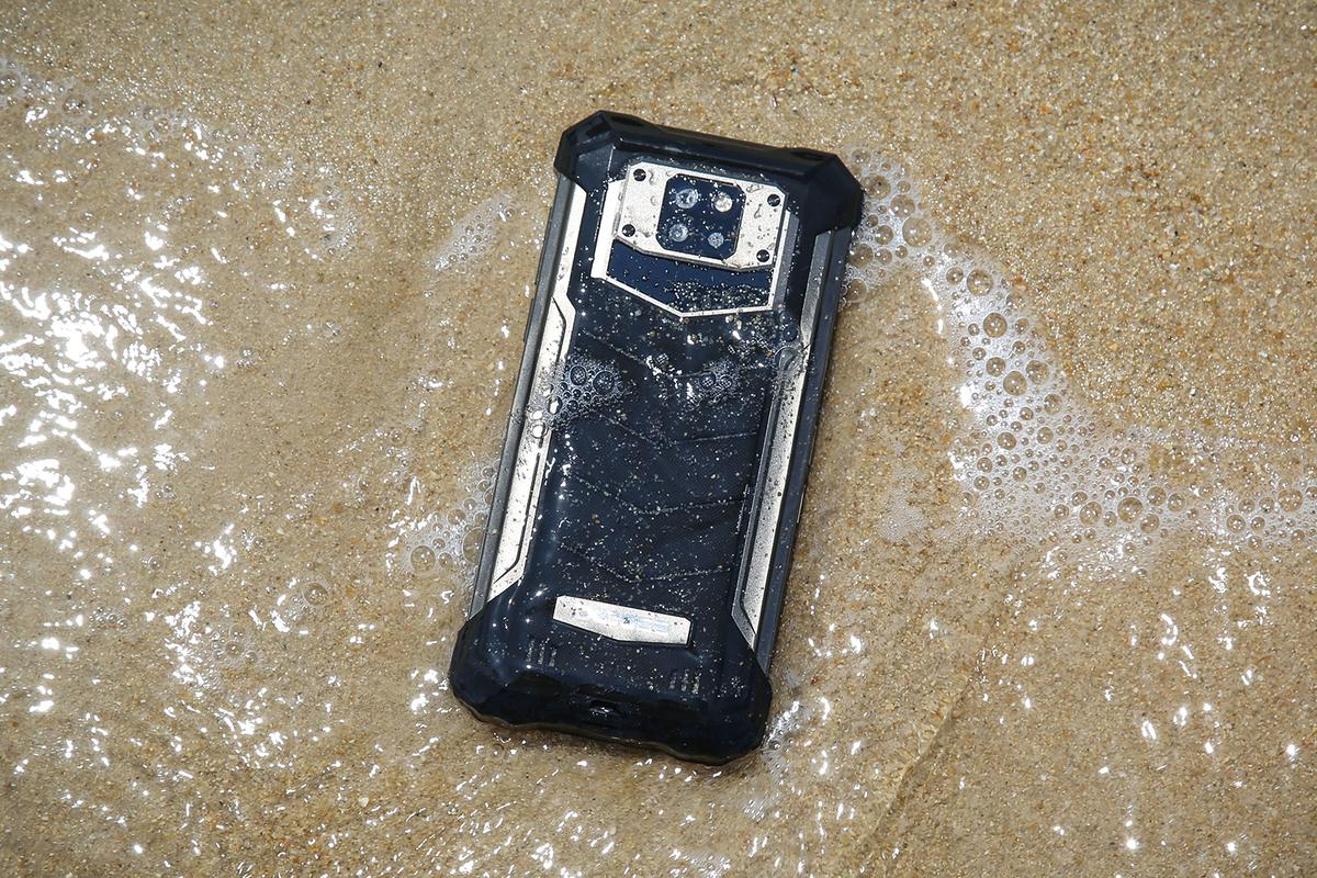 The Doogee S88 Pro can handle water, sand and long drops