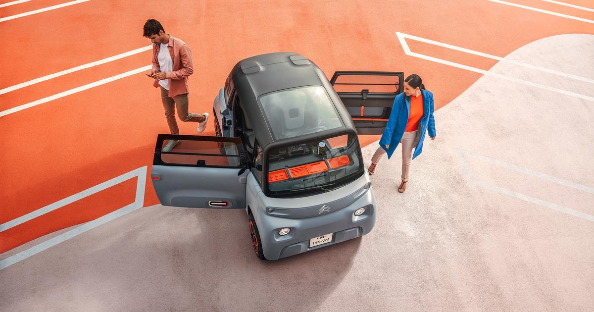 Citroen's super-cheap, license-free Ami electric city pod