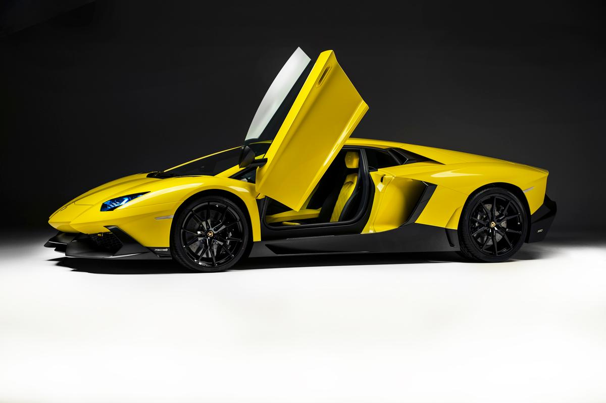 Aventador LP 720-4 50° Anniversario is a limited edition offering with only 100 numbered units available around the world