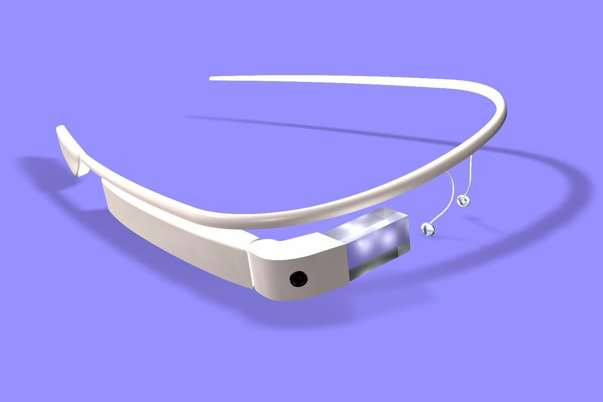 Although Google Glass never did reach the market, the technology could presumably be adapted to other smart glasses