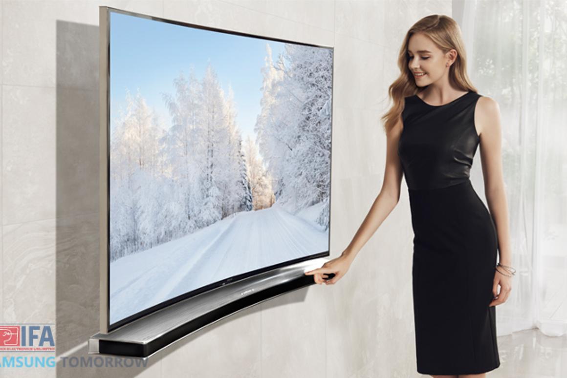 Samsung's just-announced Curved Soundbar