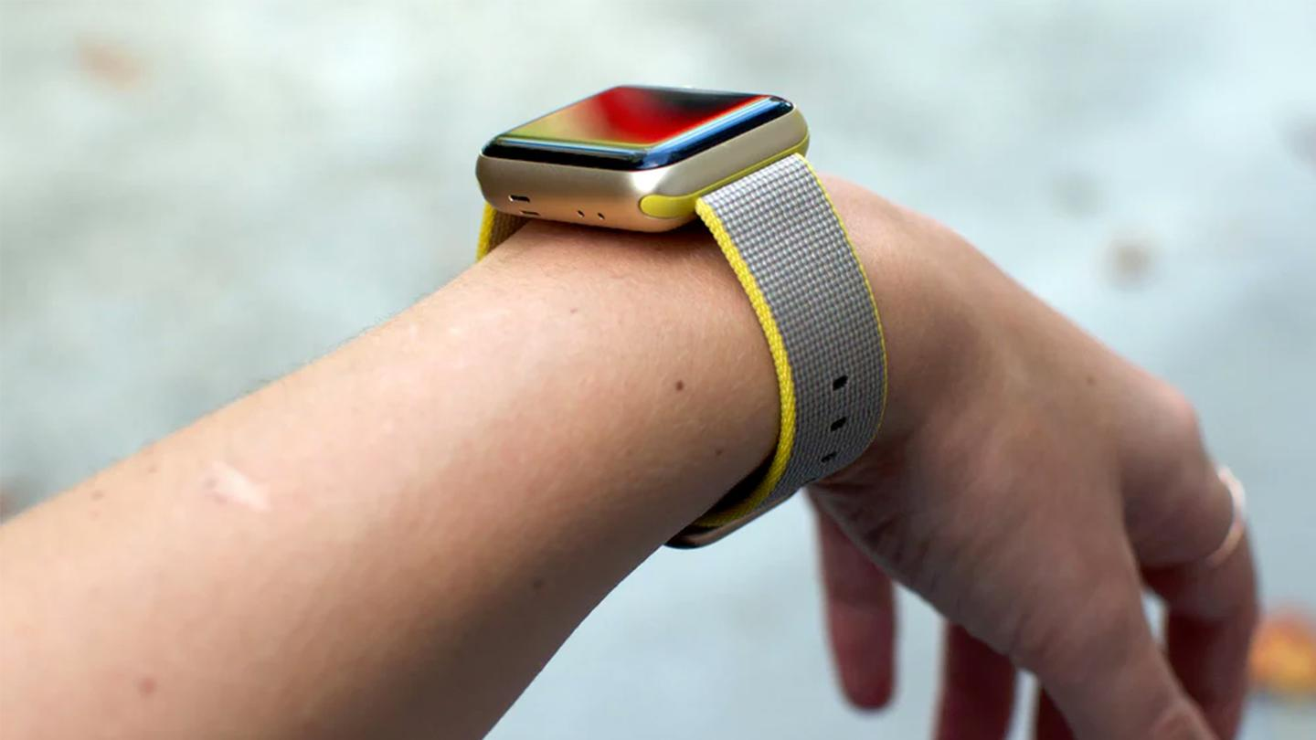 Even the smaller Apple Watch Series 2 may jut out prominently from the average woman's wrist