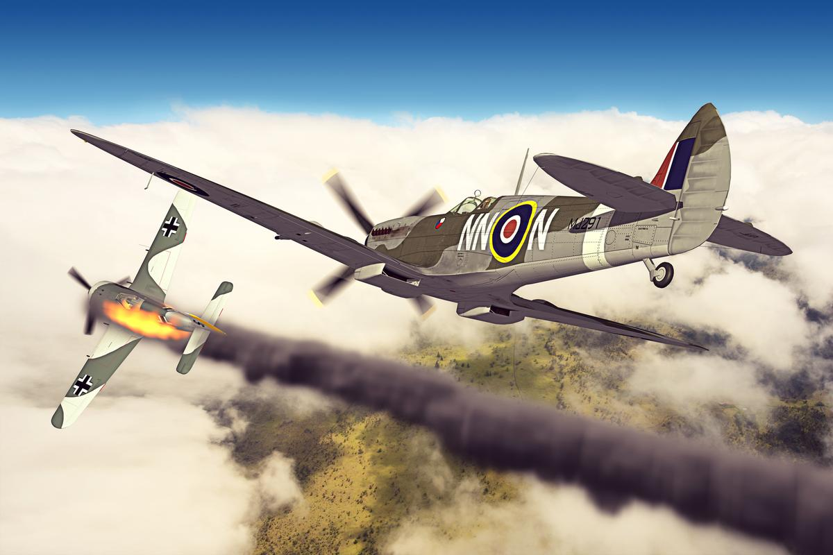 A new study uses statistics to look at other possible outcomes of the Battle of Britain