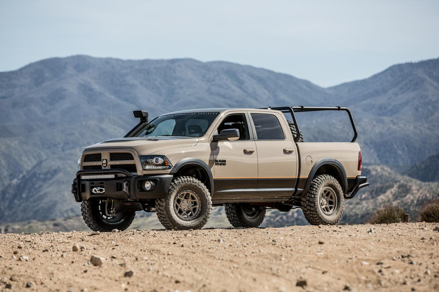 AEVhas created the Recruit package to add some off-road chops to the 1500's everyday driving capabilities