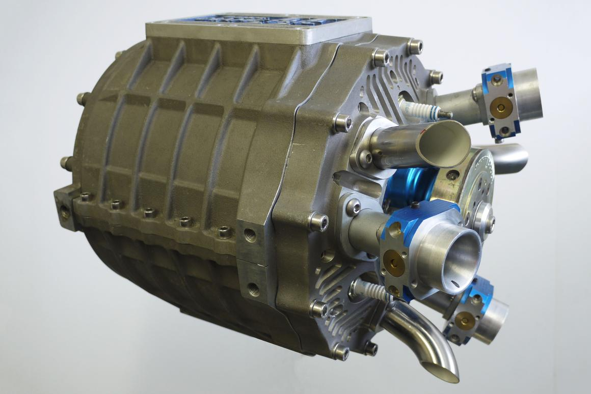 The Duke Axial Engine is lighter, more compact and already slightly more powerful than a typical equivalent engine, even though this is just a prototype