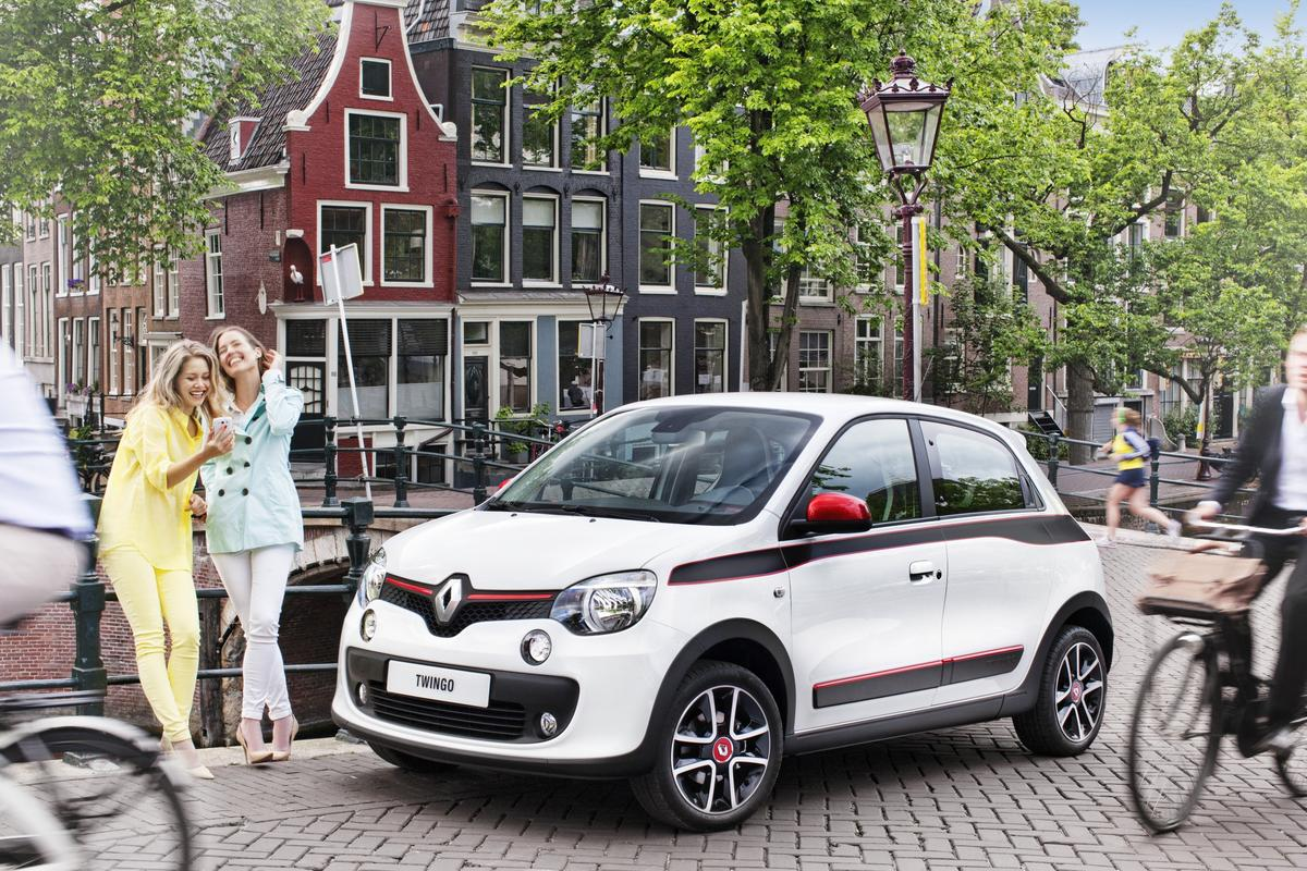Renault has unveiled the third-generation model Twingo aimed at city drivers