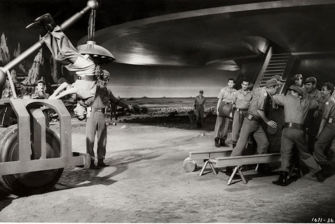 Props from sci-fi classic Forbidden Planet up for auction