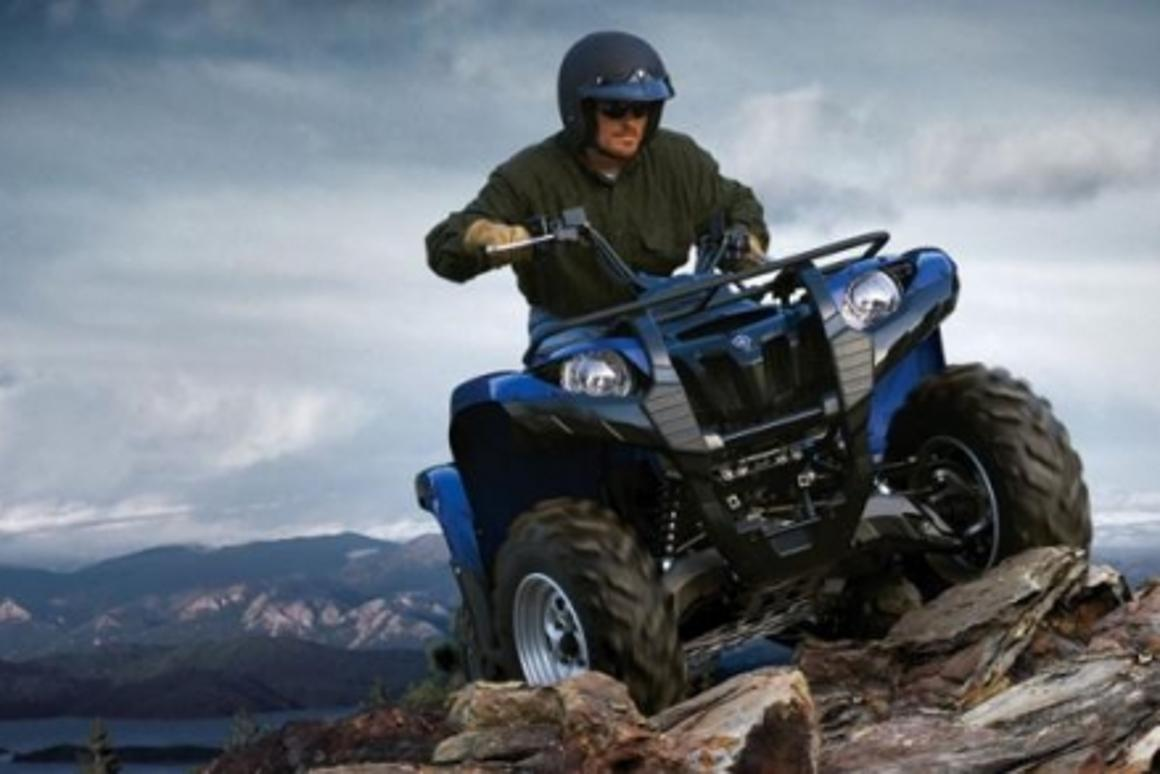 Power steering first for Yamaha Grizzly ATV