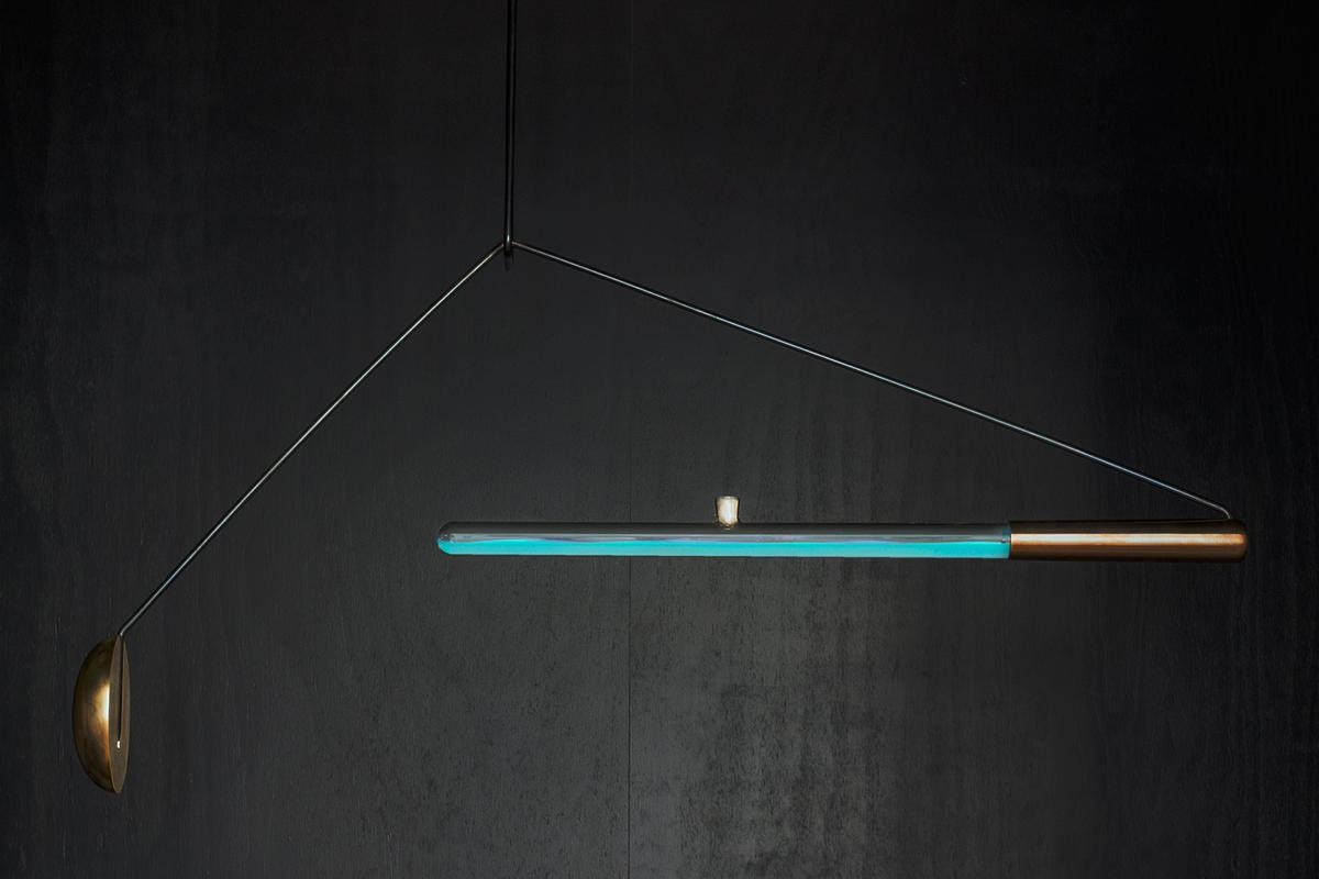 Ambio is a new lamp concept that lights up using bioluminescent bacteria