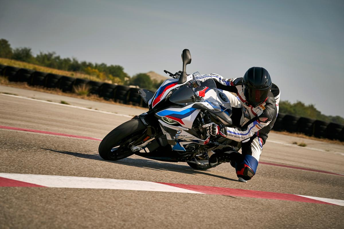 The S1000RR was already a sharp track bike but the M1000RR takes things up a notch