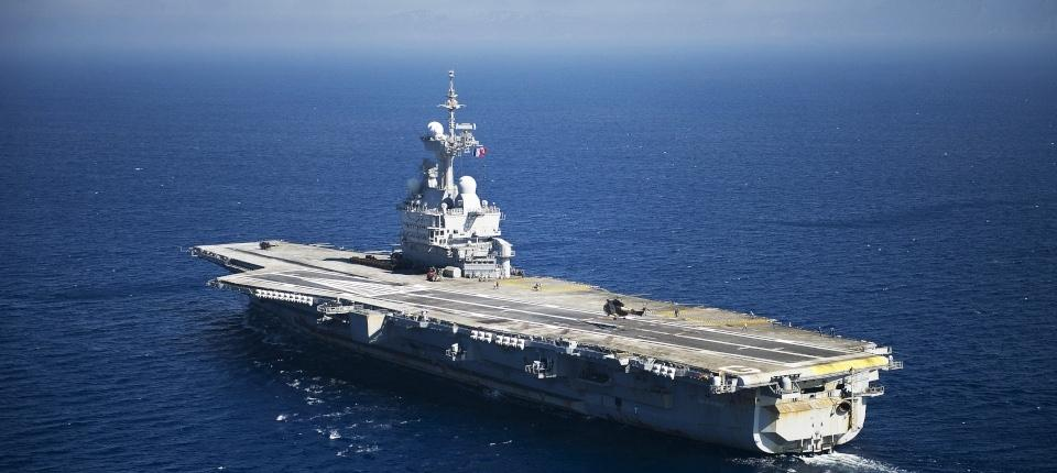 The new carrier will replace the nuclear strike carrierCharles de Gaulle