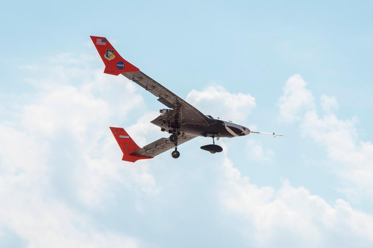 The X-56A is scheduled for November flights to further investigate how highly-flexible, lightweight wings function