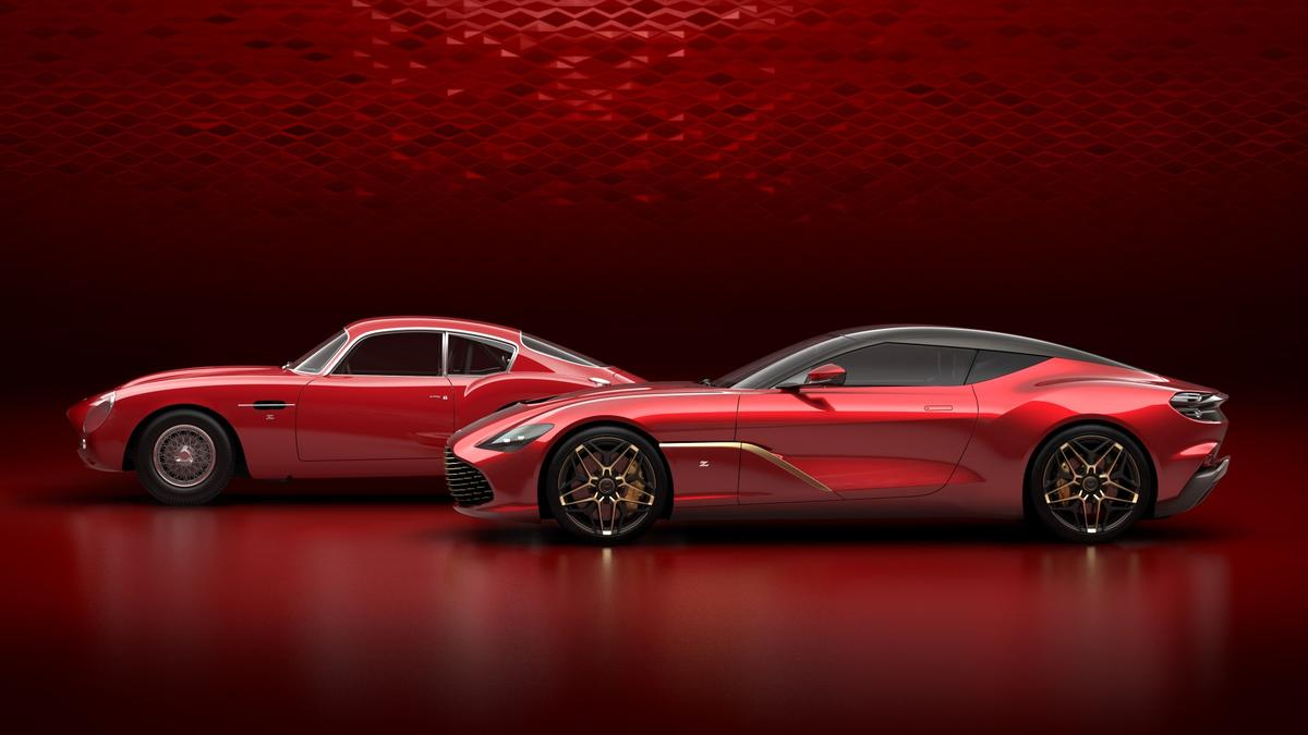 The limited-edition Aston Martin DBS GT Zagato will only be sold in a pair with the DB4 GT Zagato - and that pair will cost you 6 million UK pounds